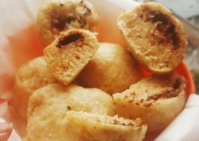 """""""Bao"""" panini cinesi ripieni di cioccolato e cotti al vapore"""