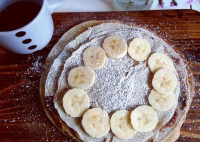 Pancake integrali senza latte e uova