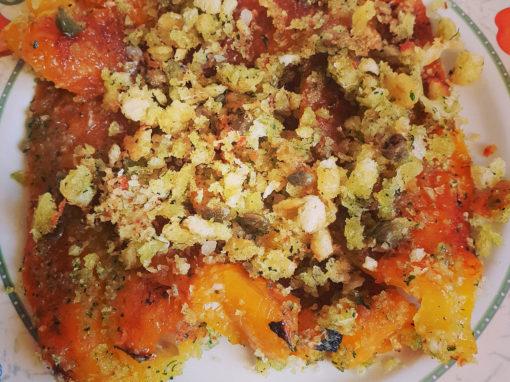 Rivisitazione dei peperoni alla leccese (piparussi muddhricati)