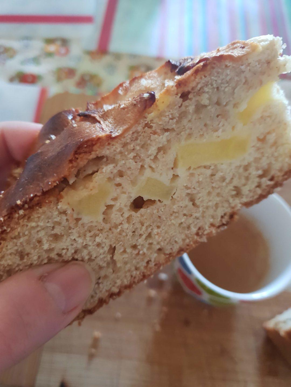 Torta di mele integrale alla cannella, sofficissima e senza lattosio