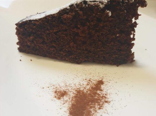 Torta cannella e cacao. Benvenuto autunno.